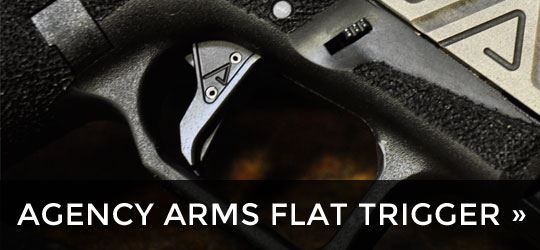 The Agency Arms Flat Trigger