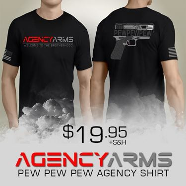 Pew Pew Pew Agency Shirt