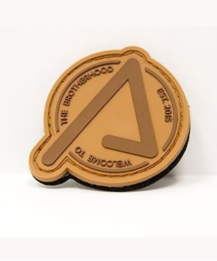 Picture of Agency Patch Brown on Brown