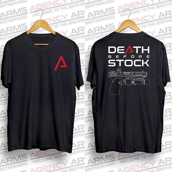 Picture of Death Before Stock T-shirt