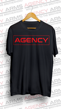 Picture of AGENCY Outline T-shirt