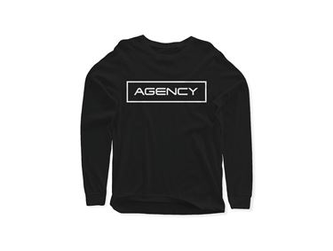 Picture of AGENCY Outline Long Sleeve T-shirt